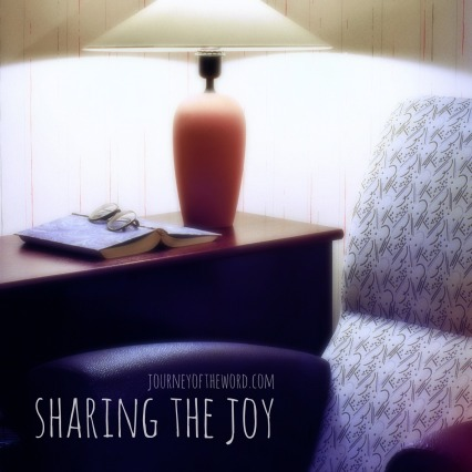 sharing the joy
