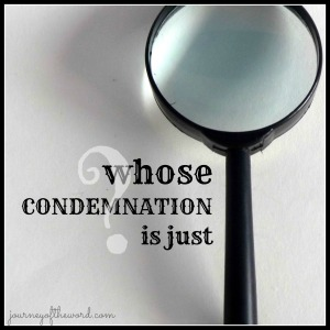 whose condemnation