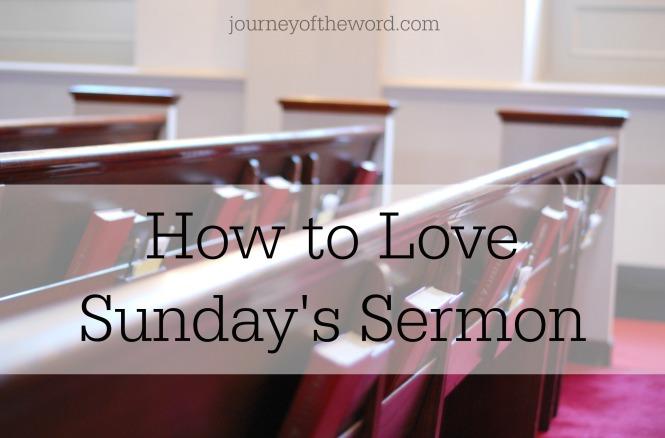 sundays sermon